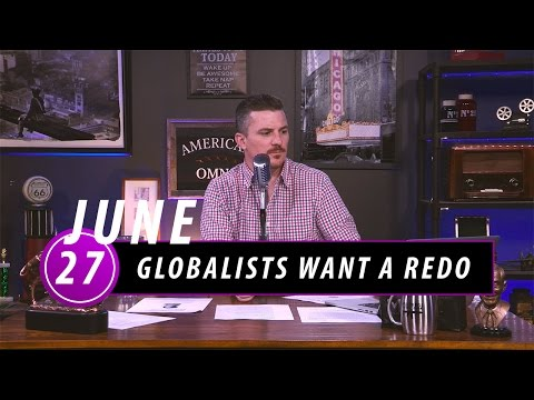Globalists Want a Redo: Call Brexit Voters Racist