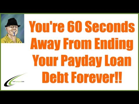 Payday Loan Relief Programs - You Can End Your Debt Today