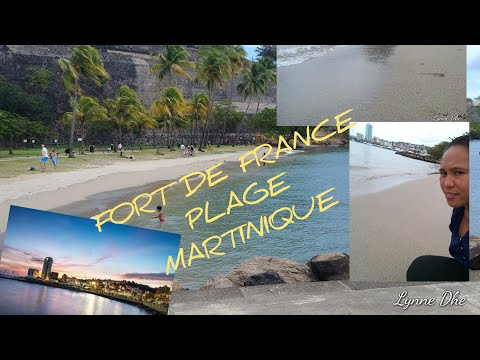 Martinique Plage C'est Très Belle ##  Plage De Fort De France..another Beach Nanaman +ng Mukbang