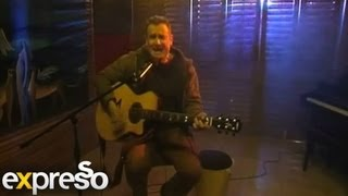 "Johnny Clegg performs ""Cruel Crazy Beautiful World "" unplugged from the Expresso Studio"