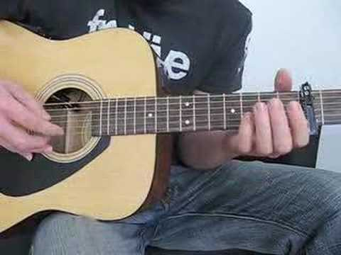 Guitar lesson for Long Nights by Eddie Vedder