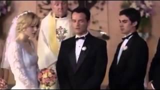 මෙන්න කොටු පැනපු කෙල්ලෙක්ට දෙන ගේම - Groom Exposes Bride and Best man (movie scene)