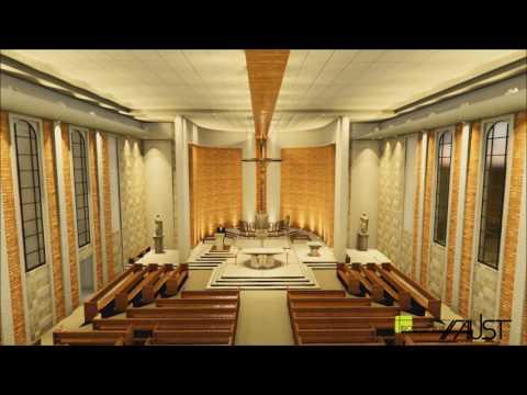 FAUST arquitetura  Igreja SantAna  Canelinha SC