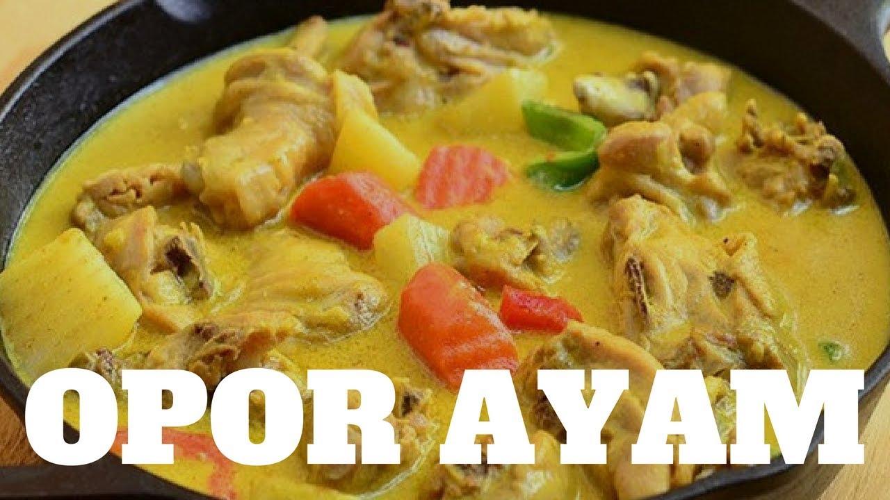Resep Opor Ayam Indofood Receipe Funcooking 3 Youtube