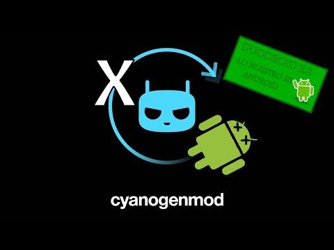CyanogenMod no Termina de Arrancar | Logo CyanogenMod sigue dando vueltas