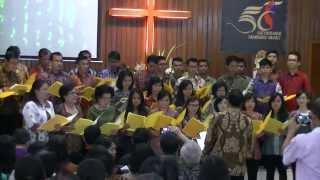 Terima Kasih Tuhan - Paduan Suara Gabungan GMI Getsemani Bandung Barat