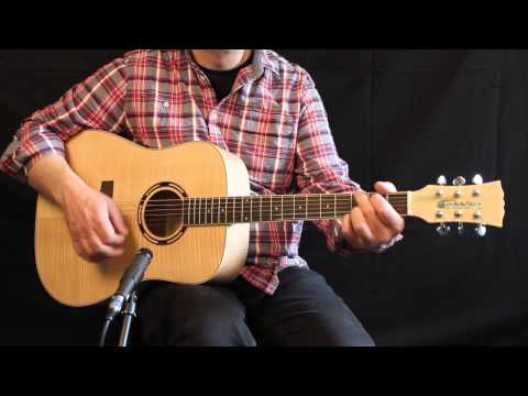 Cassidy CA451 at the musicradar Acoustic Guitar Expo 2014
