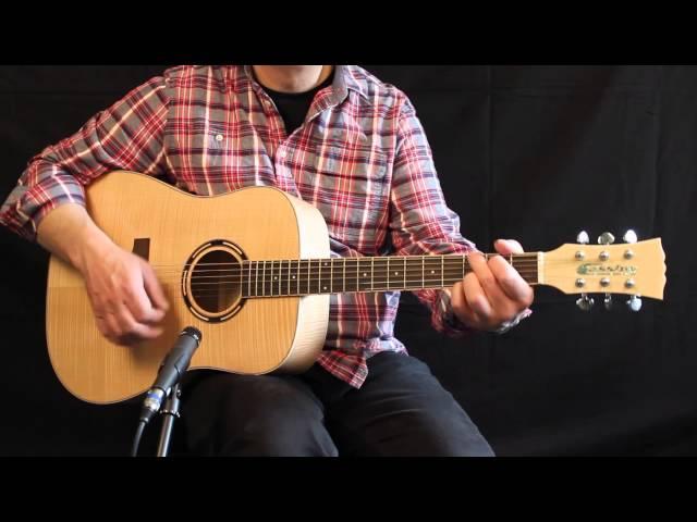 Cassidy CA451 at the musicradar.com Acoustic Guitar Expo 2014