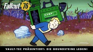 Fallout 76 – Vault-Tec präsentiert: Die Grundsteine legen! (Herstellen und Bauen)