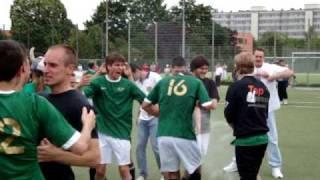 Lichtenrader BC 3:3  Eintracht Mahlsdorf, Meisterfeier