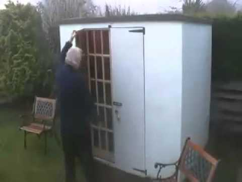 Dereks Folding Shed Mov Youtube