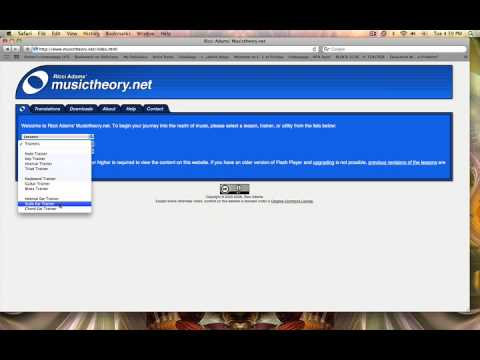 Music Theory.net tutorial by Oaster