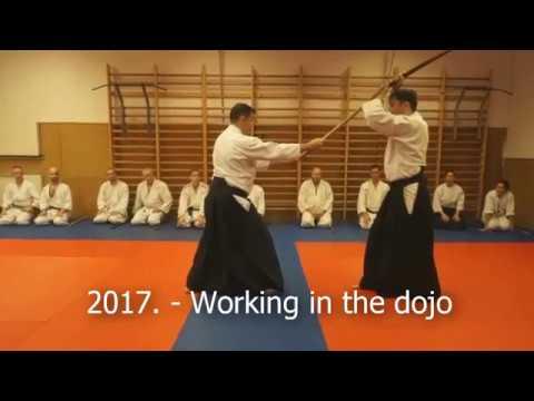 2017. - Working in the dojo - Aikido Kobayashi dojos group Hungary