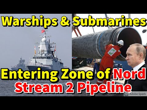 Warships, Submarines Entering Zone of Nord Stream 2 Pipeline in 'Planned, Prepared Provocations'.