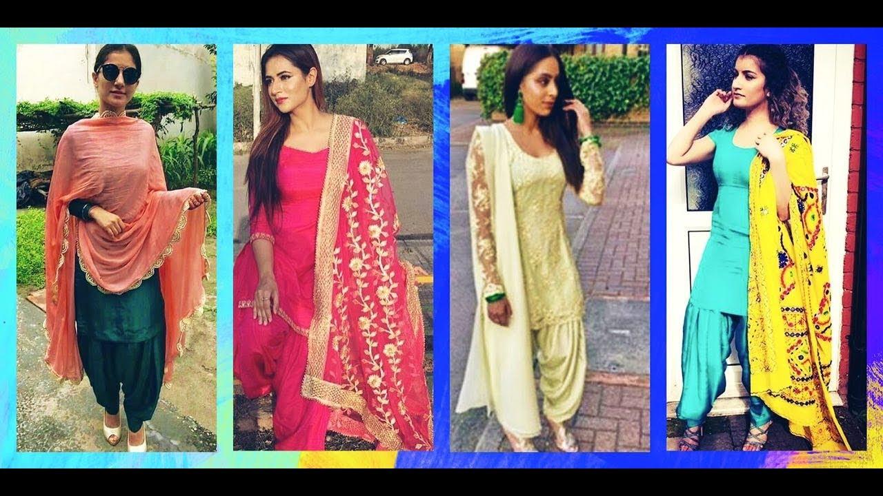 ed7bc6a5e new punjabi salwar suit designs || patiala salwar kameez designs || punjabi  salwar suit