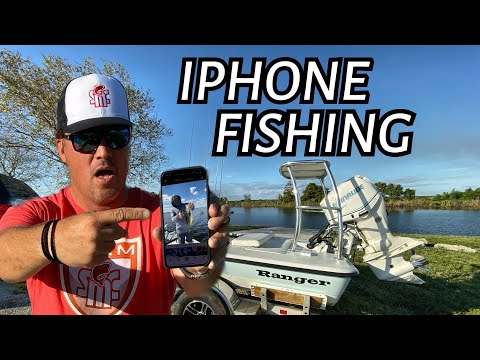 Finding Awesome Fishing Spots With My PHONE - Very Cool!!
