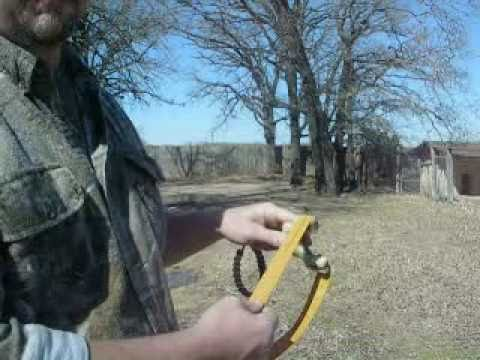 Shooting Pocket Predator Slingshots