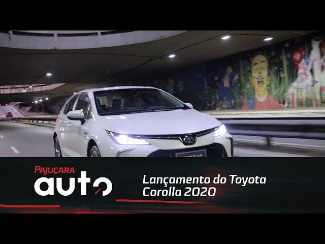 Pajuçara Auto foi até São Paulo acompanhar o lançamento do Toyota Corolla 2020