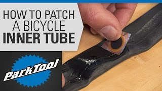 How to Patch a Bicycle Inner Tube