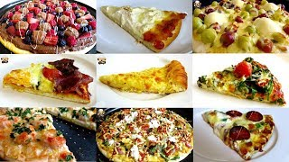 TOP 17 HOMEMADE PIZZA RECIPES INCLUDING BACON &amp EGGS PIZZA, MACARONI &amp CHEESE PIZZA AND MORE