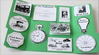 Henry Ford Lapbook & Unit Study