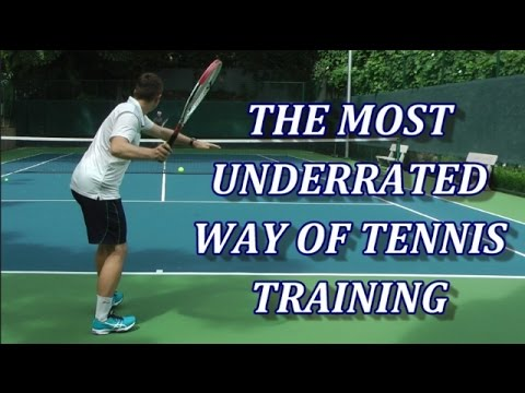 Free Hitting The Most Underrated Way Of Tennis Training Youtube