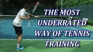 Free Hitting - The Most Underrated Way Of Tennis Training