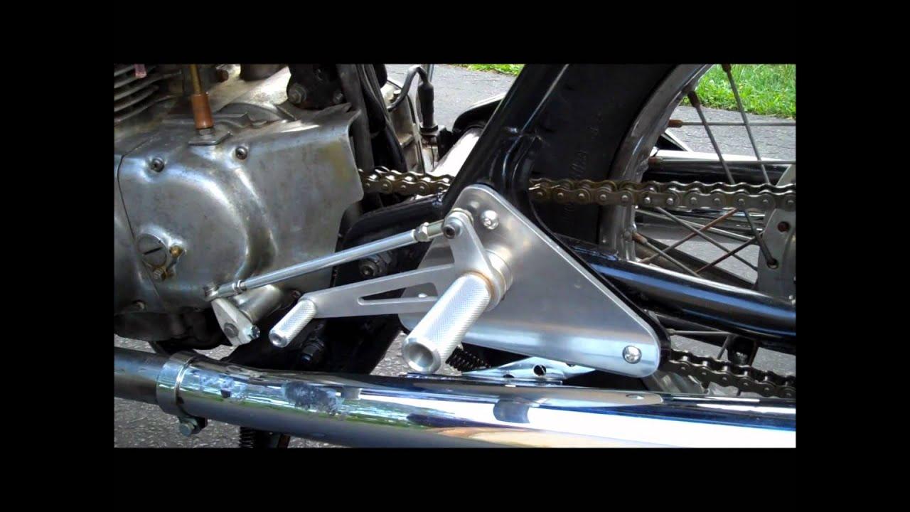 honda cb450 cafe racer - youtube