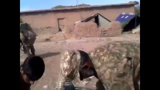 Real video on operation zarb e  azb