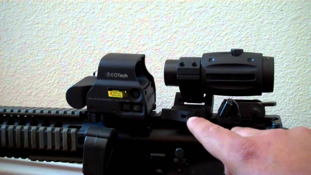 standard vs tall primary arms qd flip to side magnifier mo youtube
