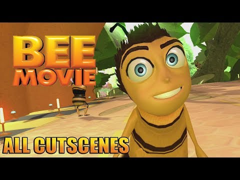 Bee Movie Game Movie ( All Cutscenes ) thumbnail