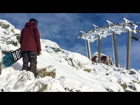 Rocky Hike To Double Black Powder Snowboarding