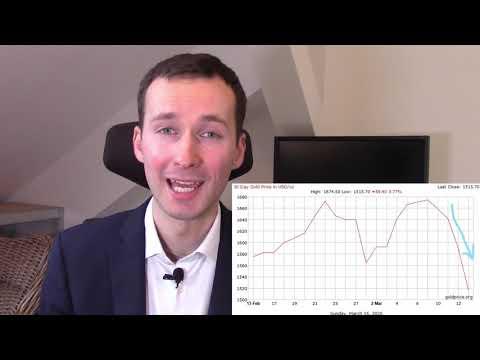 Co přináší investice do zlata při panice na trhu?