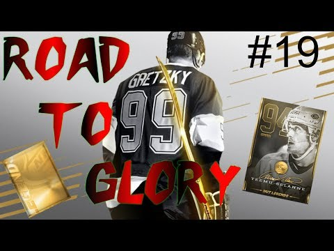 NEW Hut Legend pack -  ROAD TO GLORY EP 19   NHL 19 Hockey Ultimate Team