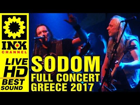 SODOM - Full Concert - Greece 2017