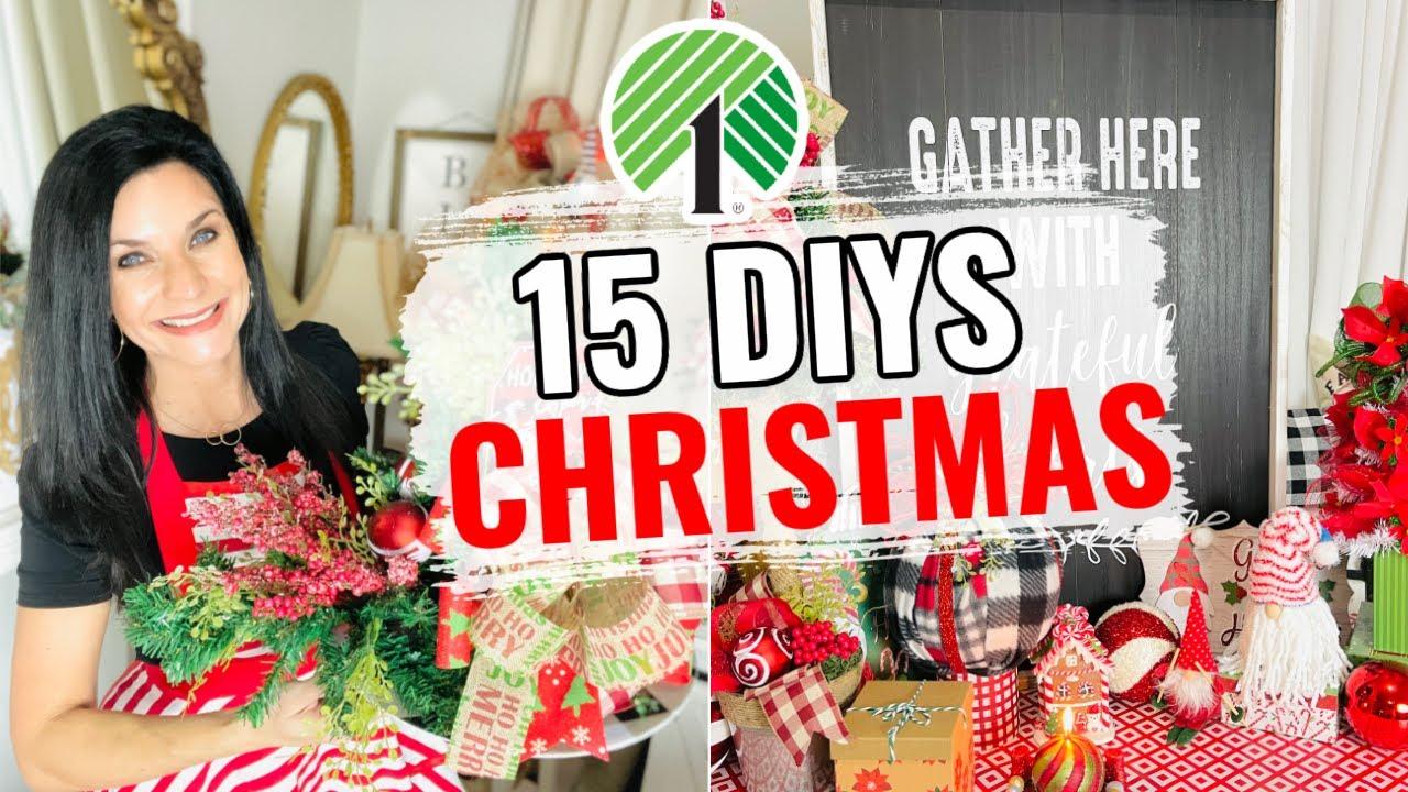 "Download 🌲15 DIY DOLLAR TREE DECOR CRAFTS~GINGERBREAD 🌲 Ep. 12 ""I love Christmas"" Olivia's Romantic Home DIY"