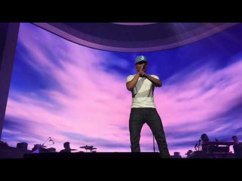 "Chance The Rapper- ""Waves"" (live)"
