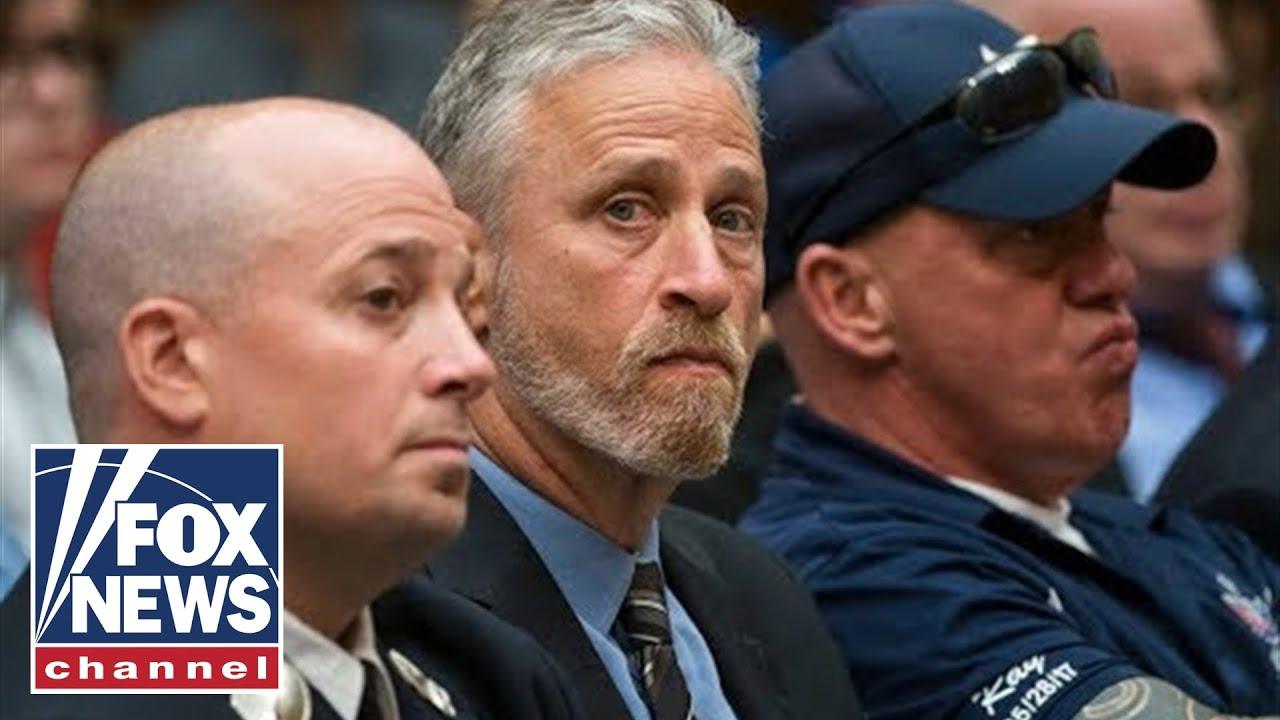 Jon Stewart slams Mitch McConnell over 9/11 victim fund on Stephen Colbert's show