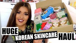 MASSIVE Korean Skin Care Haul ♡ Memebox & BeautyNetKorea