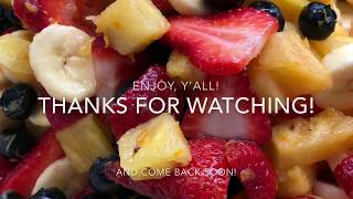Perfect Summer Fruit Salad Recipe - How to Make Amazing Summer Fruit Salad