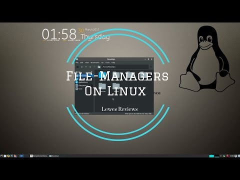 We Take A Look At 4 Linux  File-Managers