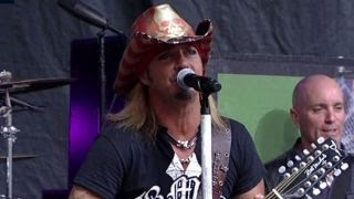Bret Michaels performs