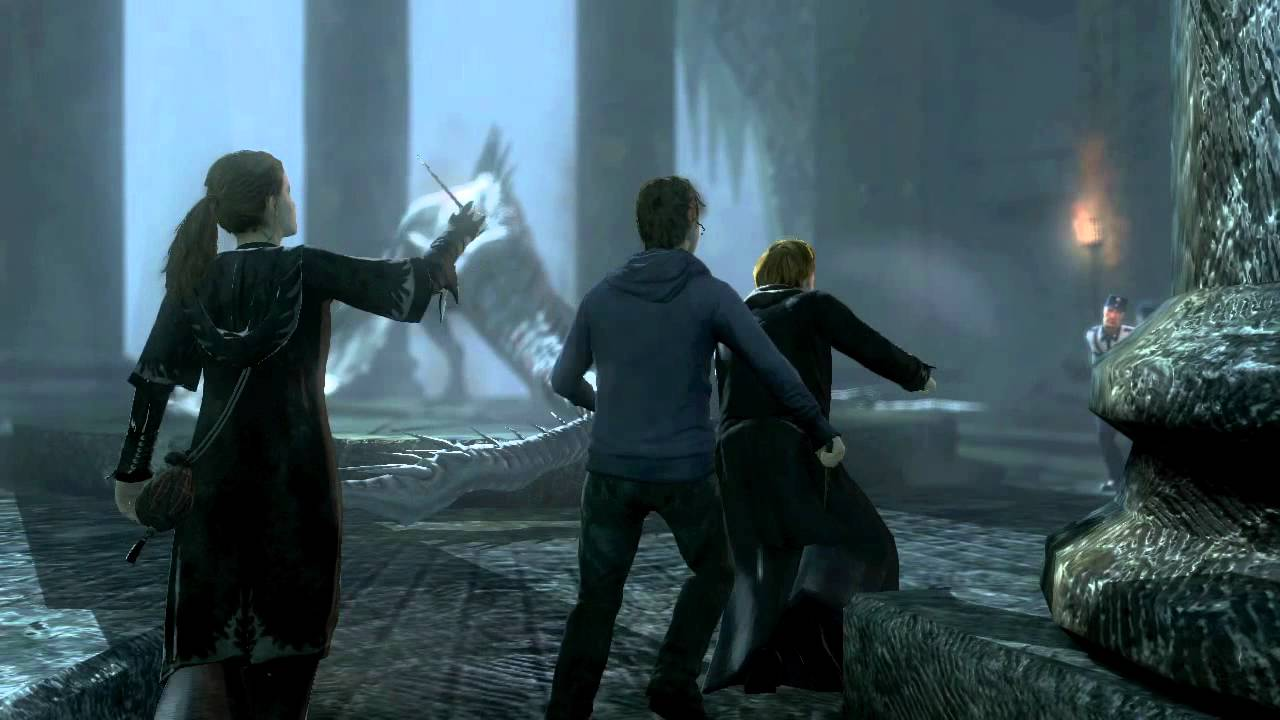 Harry Potter And The Deathly Hallows Part 2 Ds Pc Ps3 Wii Xbox 360 Game Trailer 3 Hd Youtube