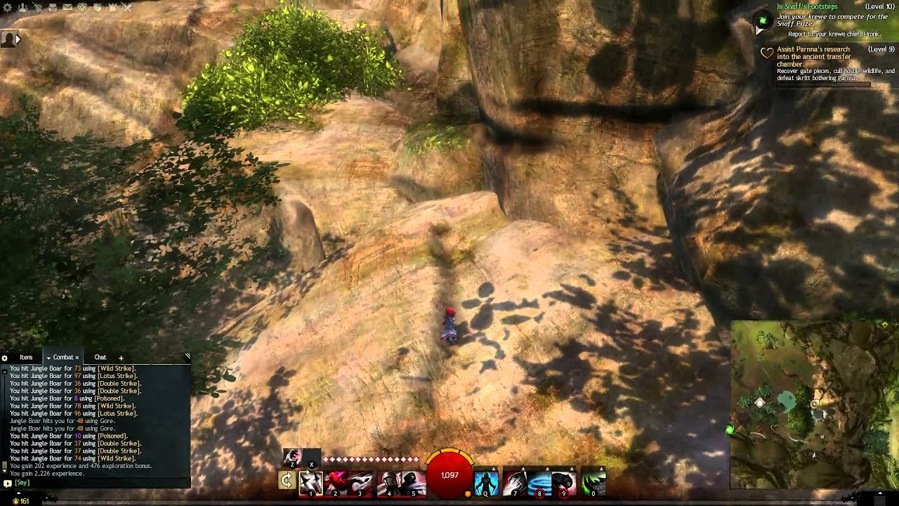 guild wars 2 how to train gliding