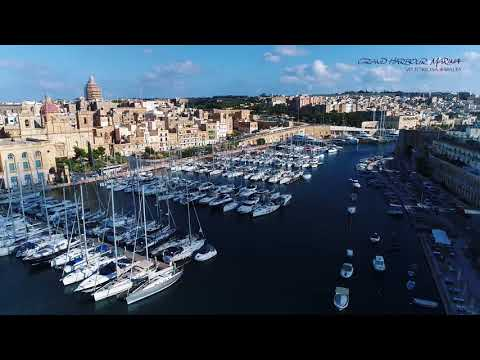The luxury superyacht destination - Grand Harbour Marina in Malta, Autumn 2017