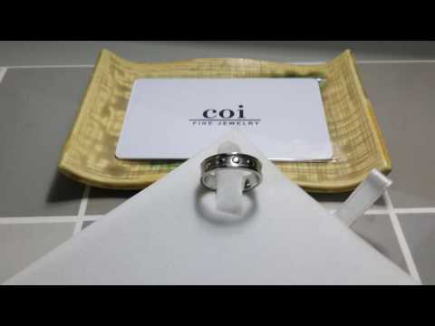 COI Jewelry Cobalt Chrome Ring - JT1585