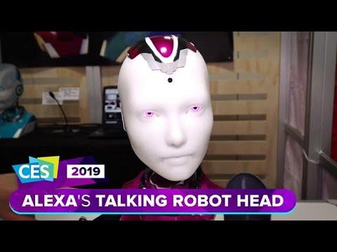 Alexa gets a robotic talking head at CES 2019