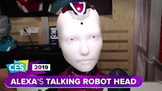 Alexa gets a robotic talking head at CES 2019