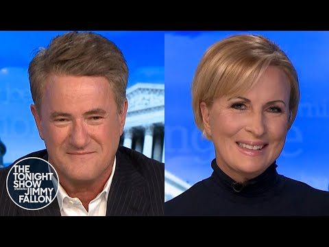 Mika Brzezinski Helped Joe Scarborough Not Get Emotional Announcing Joe Biden's Win