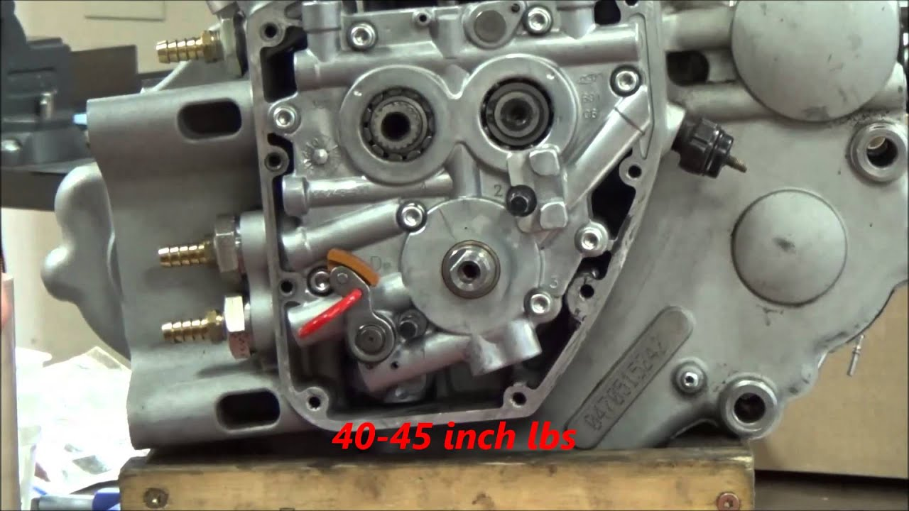 Twin Cam Series: 17 How to align the gerotor oil pump in a
